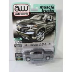 Auto World 1:64 Chevrolet Silverado LTZ Z71 2019 satin steel