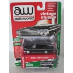 Auto World 1:64 Chevrolet Impala SS Convertible 1962 gloss black