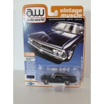 Auto World 1:64 Chevrolet Chevelle SS 1966 danube blue