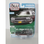 Auto World 1:64 Buick Estate Wagon 1975 verde mist