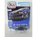 Auto World 1:64 Chevrolet Camaro RS/SS 2011 imperial blue