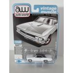 Auto World 1:64 Chevrolet Chevelle SS 1966 ermine white