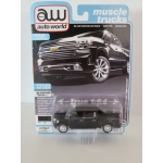 Auto World 1:64 Chevrolet Silverado High Country 2019 black