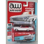 Auto World 1:64 Chevrolet Impala Convertible 1962 ermine white
