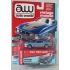 Auto World 1:64 Ford Mustang Mach 1 1972 medium blue