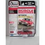 Auto World 1:64 Chevrolet Chevelle SS 1967 bolero red
