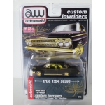 Auto World 1:64 Chevrolet Impala SS Hardtop Lowrider 1962 black gold