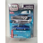 Auto World 1:64 Chevrolet Impala SS convertible 1962 blue