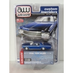 Auto World 1:64  Chevrolet Impala Sport Coupe 1970 blue
