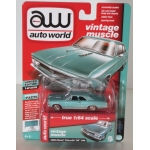 Auto World 1:64 Chevrolet Chevelle SS 1966 artesian turquoise