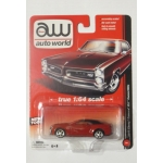 Auto World 1:64 Chevy Camaro ZL1 Convertible 2012 red