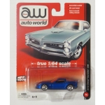Auto World 1:64 Chevy Corvette Z06 2012 blue