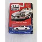 Auto World 1:64 Chevrolet Camaro Z28 1984 white