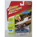 Johnny Lightning 1:64 Chevrolet Chevelle SS 1968 grotto blue