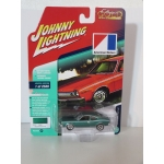 Johnny Lightning 1:64 AMC Hornet 1974 dark green