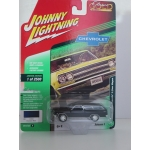 Johnny Lightning 1:64 Chevrolet Chevelle 2 Door Wagon 1965 danube blue