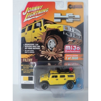 Johnny Lightning 1:64 Hummer H2 Wagon with Rack