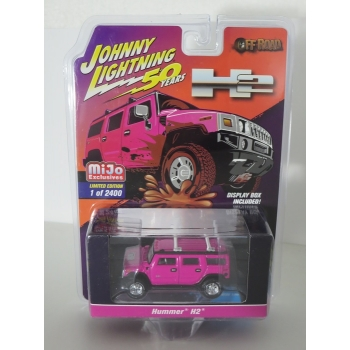 Johnny Lightning 1:64 Hummer H2 Wagon LTD pink