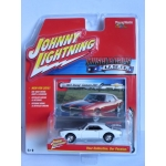 Johnny Lightning 1:64 Chevrolet Camaro Z28 1967 white with black stripes