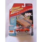 Johnny Lightning 1:64 AMC AMX 1969 orange