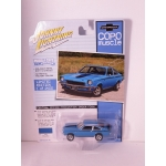 Johnny Lightning 1:64 COPO Yenko Chevrolet Vega Stinger 1971 wasp blue
