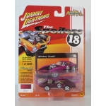 Johnny Lightning 1:64 Chevrolet Corvette 1975 cherry red