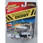 Johnny Lightning 1:64 Chevrolet Tahoe 1997 Police white