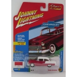 Johnny Lightning 1:64 Chevrolet Bel Air 1955 red/white
