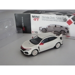 Mini GT 1:64 Honda Civic Type R (FK8) 2017 with Modulo kit LHD white