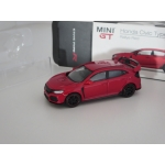 Mini GT 1:64 Honda Civic Type R (FK8) 2017 RHD rally red