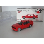Mini GT 1:64 BMW M3 (E30) RHD henna red