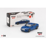 Mini GT 1:64 Bentley Continental GT 2018 LHD sequin blue