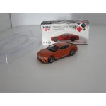 Mini GT 1:64 Bentley Continental GT orange flame