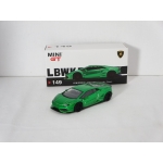 Mini GT 1:64 Lamborghini Huracan LB Works green