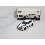 Mini GT 1:64 BMW M4 LB Works LHD white with M Stripe