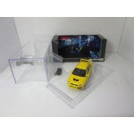 BM Creations 1:64 Mitsubishi Lancer Evolution VII LHD with Extra Wheels yellow