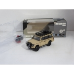 BM Creations 1:64 Mitsubishi Pajero LHD Jungle Pack 1996 matt ivory