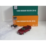 BM Creations 1:64 Nissan Silvia S14 LHD 1994 red