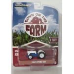 Greenlight 1:64 Ford 8N Tractor 1949 white blue
