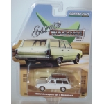 Greenlight 1:64 Volkswagen Type 3 Squareback 1968 lotus white