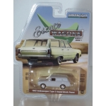Greenlight 1:64 Volkswagen Type 3 Squareback Panel 1965 light grey