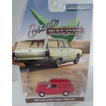 Greenlight 1:64 Volkswagen Type 3 Panel Van 1968 velour red