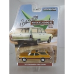 Greenlight 1:64 Oldsmobile Vista Cruiser 1970 nugget gold