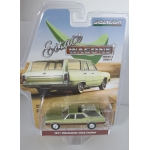 Greenlight 1:64 Oldsmobile Vista Cruiser 1971 palm green with woodgrain