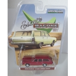 Greenlight 1:64 Pontiac Grand LeMans Safari Wagon 1976 red