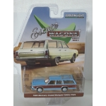 Greenlight 1:64 Mercury Grand Marquis Colony Park 1983 blue with woodgrain