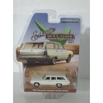 Greenlight 1:64 Plymouth Satellite Station Wagon 1969 alpine white