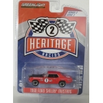 Greenlight 1:64 Ford Shelby Mustang 1968 #1 Jerry Titus & Ronnie Bucknum