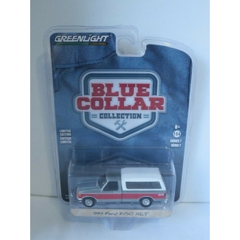 Greenlight 1:64 BC7 - Ford F-150 XLT 1994 Camper Shell GREEN MACHINE
