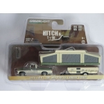 Greenlight 1:64 Ford F-100 1970 with Pop-Up Camper Trailer